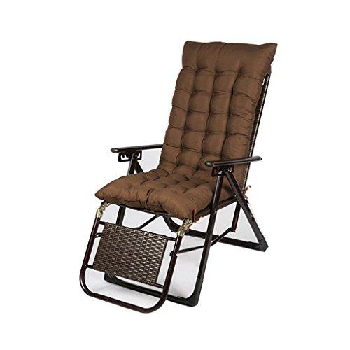 Relaxsessel Klappstuhl Reclining Relaxer Stühle Recliner Zero Gravity Wicker Stuhl Multi-Position Anpassung Withstand Gravity 200kg für Indoor-und Outdoor-Lounge Chair ( Farbe : #2 )