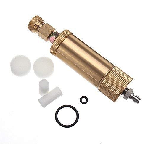 Filtro del compressore 40Mpa separatore olio acqua filettatura interna per serbatoio pompa aria - oro