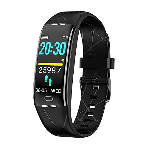 Fitness Armband Multifun, Fitness Tracker Smartwatch Wasserdicht IP68 mit 8 Sportsmod Pulsmesser Fitness Uhr Aktivitätstracker für Damen und Herren