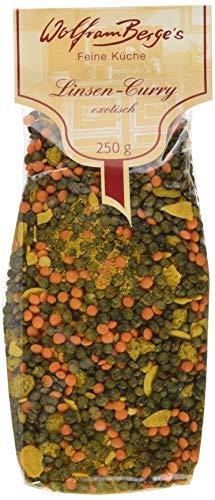 Wolfram Berge Linsen-Curry exotisch, 4er Pack (4 x 250 g)