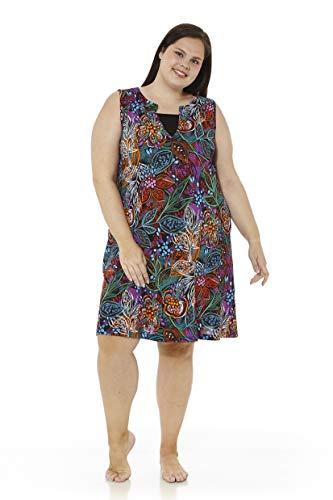 mabel intima Vestidos Mujer Talla Grande Vestido Talla Grande Casual con Tirantes Vestido Talla 50