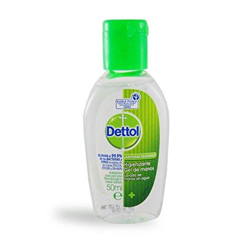 Dettol - Gel hidroalcoholico desinfectante de manos - 50 ml
