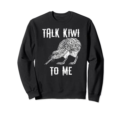 Talk Kiwi To Me ニュージーランド キウイバードギフト トレーナー