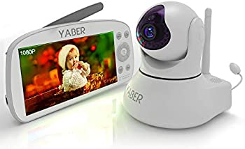 Yaber 1080P Video Baby Monitor with Camera and Audio