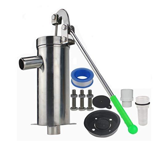 FCCD Sacudida manual Bomba de agua Presión Agua de pozo Bomba de agua doméstica Bomba Bomba de agua Bomba de presión manual de acero inoxidable