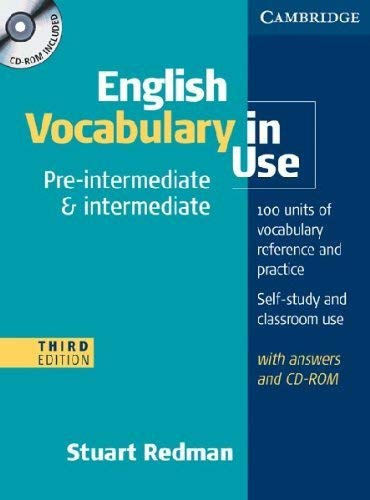 English Vocabulary in Use: Pre-intermediate and Intermediate with Answers and CD-ROM [Lingua inglese]