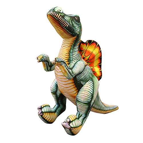 Los nuevos juguetes de peluche utilizan el aspecto de dragón vintage, lindo patrón de dinosaurio, los niños son muy queridos en los regalos de cumpleaños de los niños (pullón, 60 cm 0,42 kg)