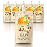 USDA Organic Yuza Citron Juice [ 6 Pouches ] Ready to Drink, ON-THE-GO Vegan Kids Juice, Yuzu Beverage Rich in Vitamin C, Korean Honey Citron Tea by [고흥 Yuza]