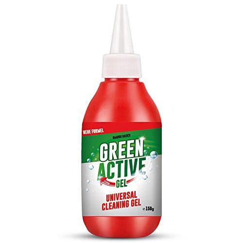 Green Active Gel - Fugenreiniger aus Gel [Verbesserte Version] | Ideal für Wand und Fugen in Küche & Bad | Fugen-Schmutz Entferner & Vernichter (1 Flasche)