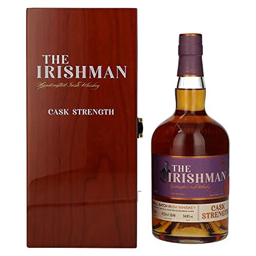 The Irishman Small Batch Irish Whiskey Cask Strength 2021 54,8% - 700ml in Holzkiste