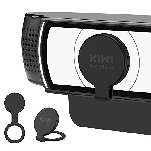 KIWI Design Webcam Cover 2er-Pack, Webcam Schutzabdeckung der Privatsphäre und Sicherheit für die Logitech HD Pro Webcam C920, C920e, C925e, C930c, C1000e