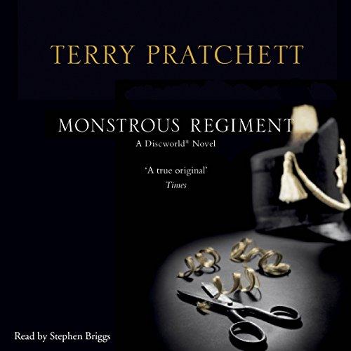 Monstrous Regiment audiobook cover art