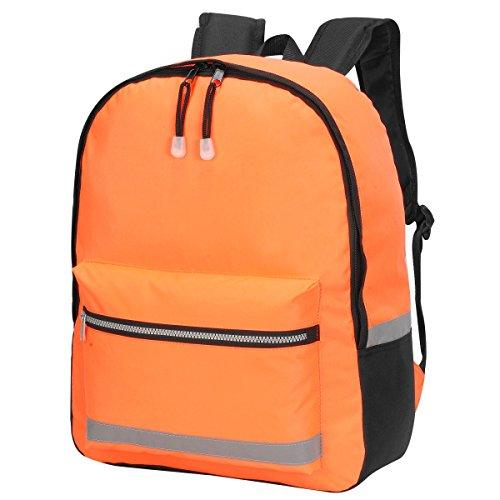 Shugon - Mochila modelo Gatwick de alta visibilidad (18 litros) (Talla Única) (Naranja butano)