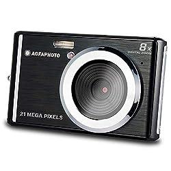 21 megapixel CMOS sensor 8 x digital zoom 2.4 inch LCD display Video resolution HD 1280 x 720 Box contents: Agfa Photo Digital Camera DC5200 21 Megapixel 8x Zoom Black