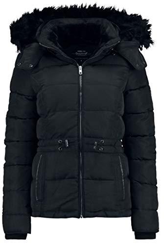 Hailys Amber Frauen Winterjacke schwarz M 100% Polyester Basics, Casual Wear, Streetwear
