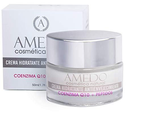 ALTAMENTE EFECTIVA - CREMA CON COENZIMA Q10 MAS PEPTIDOS - Crema hidratante, antienvejecimiento, para pieles jóvenes con primeros signos de envejecimiento - 50 ml