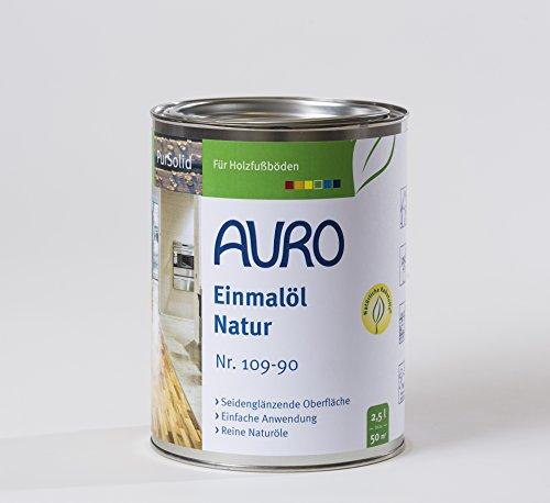 AURO Einmalöl PurSolid Natur Nr. 109-90, 2,50 Liter