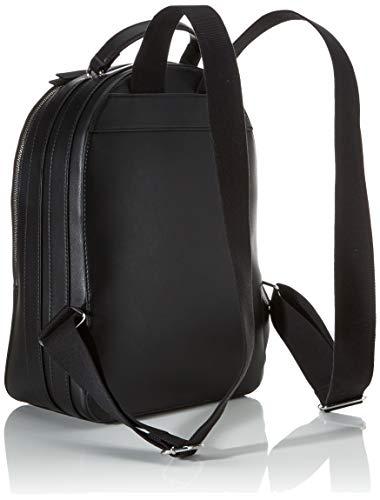 415+s7MnA2L - Tommy Hilfiger - Staple Dome Backpack, Mochilas Mujer, Negro (Black), 1x1x1 cm (W x H L)