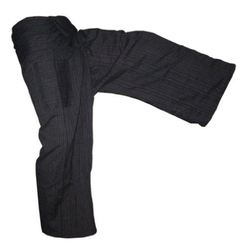 Panasiam® Fishermannhose: Lin, in schwarz, XL