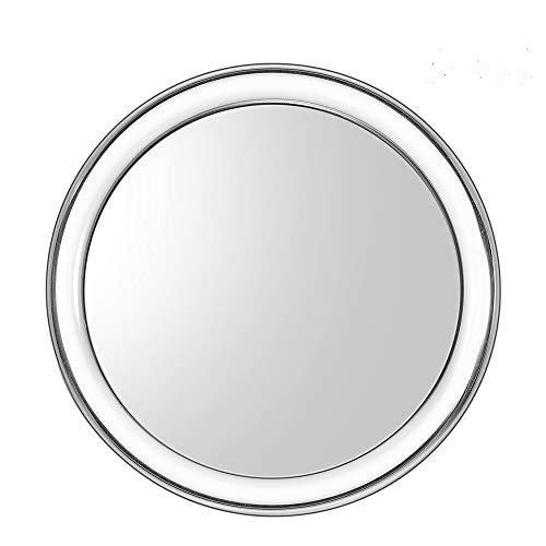 Uarzt Makeup Vantity Mirror, 20X Magnifying Mirror Detachable Beauty Mirror 4 Inch Round Makeup Cosmetic Mirror for Bathroom or Bedroom Table (20 X)