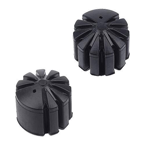 NOPNOG 1 Paar Schwarze Motorradsitz-Tieferlegungshalterung, Gummi, für BMW K1600 R1200GS / RT R1250GS / RT S1000XR