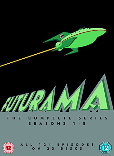Futurama Seasons 1-8 DVD [Italia]