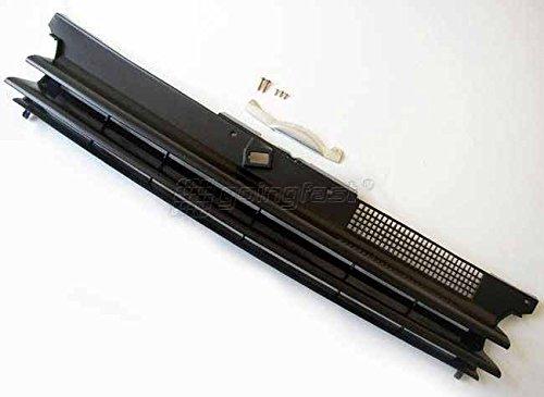 Kühler- Sport- Front- Rippen- Grill ohne Emblem Schwarz Eintragungsfrei
