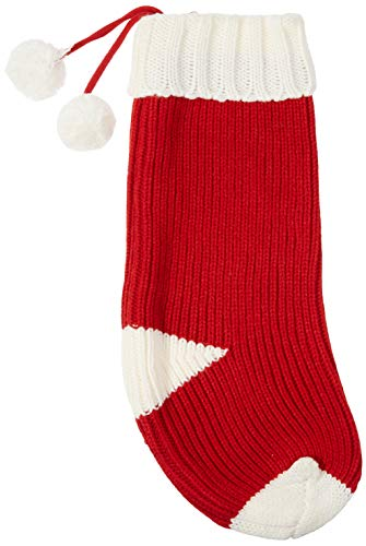 Dyno Seasonal Solutions 20', Knit Stocking, 2 Assorted Styles Calcetín de Punto de 50,8 cm, 2 Estilos Surtidos, 1