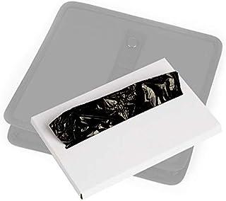 KMMOTORS Jopps Wastebasket Black Garbage Can (30 Plastic Bags)