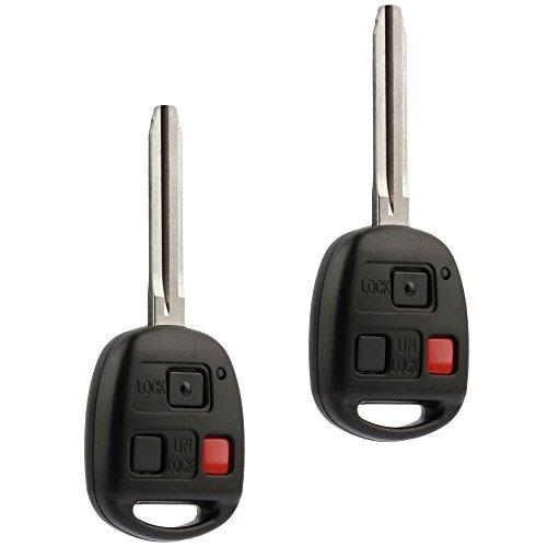 Car Key Fob Keyless Entry Remote fits Toyota 2008-2009 FJ Cruiser, 2003-2007 Land Cruiser (HYQ1512V)