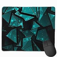ゲーミングマウスパッド-ゲーミングセンサー用に最適化された高性能マウスパッド-ガラスの破片、30x25 cm / 11.8x9.8 in