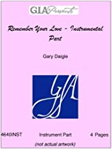 Remember Your Love - Instrumental Part - Gary Daigle