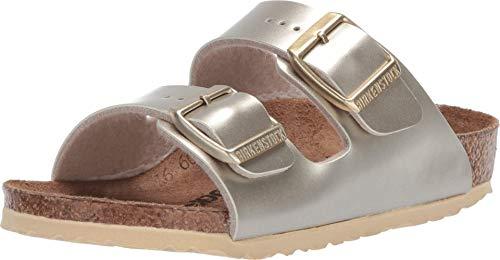 "Birkenstock Kinder-Schuhe, Arizona, Farbe ""Electric Metalic Gold"", Größe 34 N"