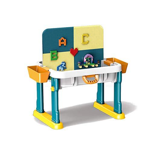 Table d'activités, Table pour Enfants, Ensemble de Jeu Multi-activités et Table à Eau, Table de Sable, Jouets Polyvalents pour garçons et Filles