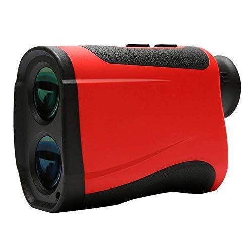 Cacoffay Golf -Entfernungsmesser für Jagd und Maschinenbau Überprüfung des Ladevorgangs 7-facher Vergrößerungsbereich, Höhe, horizontaler Abstand, Winkel, Geschwindigkeit