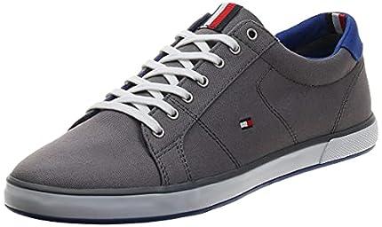 Tommy Hilfiger H2285arlow 1d, Zapatillas Hombre, Gris (Steel Grey 596), 40 EU