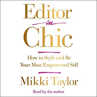Editor in Chic audiobook cover art