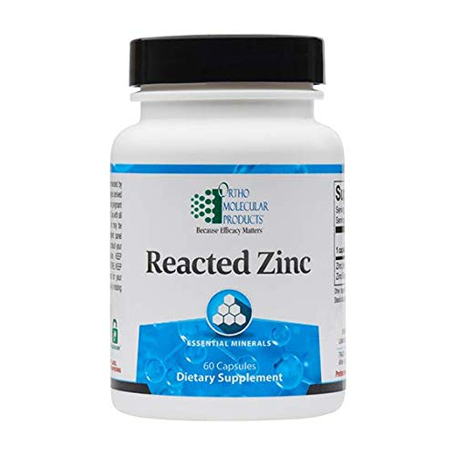 reacted Zinc, 60 Capsules
