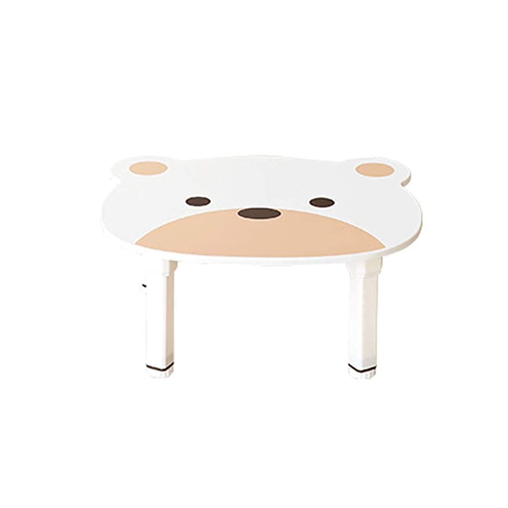 プロテスタント州クレーンルームアンドホーム テーブル プチ ベアキッズ ホワイト 47.6×57.5×25.5cm