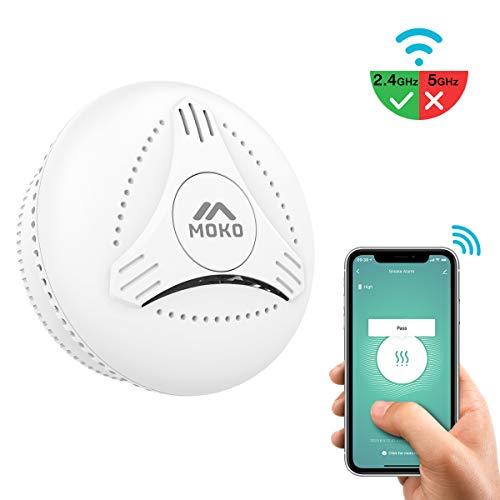 MoKo Alarma de Humo Inalámbrica Inteligente, Certificación