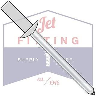 QUANTITY: 1,500 pcs #86 1//4 x .25-.37 Standard Blind Rivets // All Steel // Zinc // Barrel Length: .625