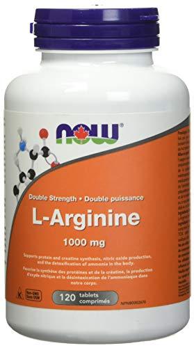 NOW L-Arginine 1000mg 120 Tablets, 120 g