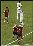 LDJING Leinwanddrucke Fußballstar Andres Iniesta Poster