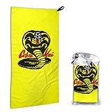Lncsdk Aeuv Cobra Kai 2 Microfiber Quick Drying Beach Towel,...