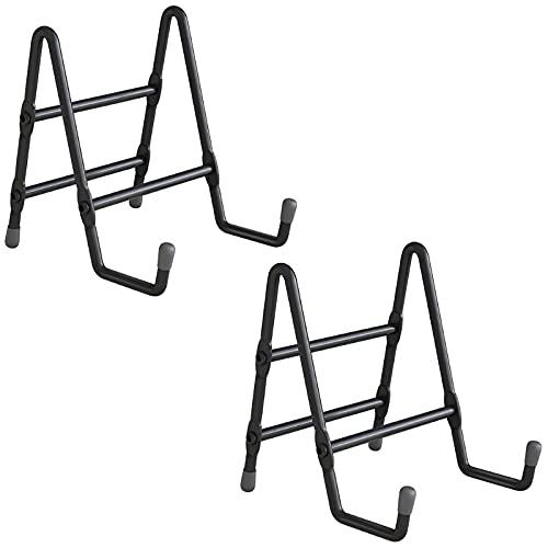 Angelliu 2 Pieces Non-Slip Photo Frame Holder Metal Plate Holder For Photo Book Photo Book, Easel Art Decoration Photo Frame Holders