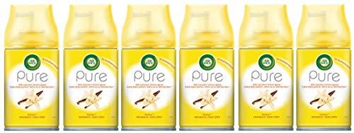 Air Wick FM Pure Vanille (Vanilla) 250ml Nachfüller für Freshmatic Lufterfrischer (6x 250ml)