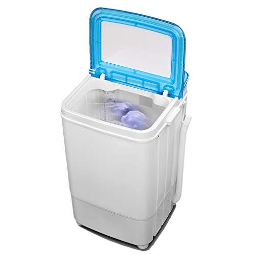 Washer Lavadora, Mini Lavadora PortáTil, Antibacterias UV De Barril Simple, Lavadora para NiñOs SemiautomáTica, Cesta De Drenaje Desmontable, Limpieza De Ropa para BebéS