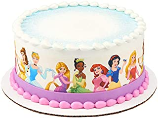 Disney Princess Friends Edible Cake Border - Set of 3 Strips