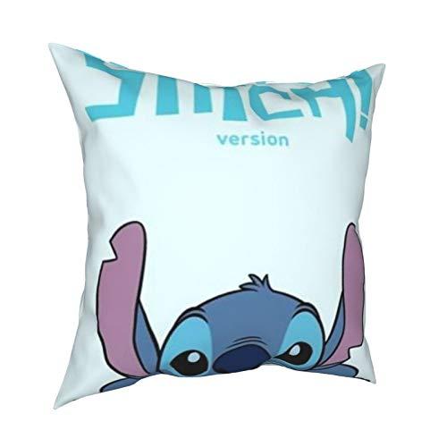St-itch almohada de 50,8 x 50,8 cm, decoración interior se puede utilizar en cualquier habitación de invitados.