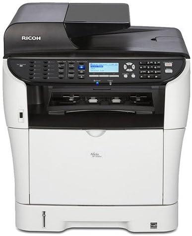 Ricoh Aficio SP 3500SF Laser Multifunction Printer - Monochrome - Plain Paper Print - Desktop - Copier/Fax/Printer/Scanner - 30 ppm Mono Print - 1200 x 1200 dpi Print - 30 cpm Mono Copy LCD - 1200 dpi Optical Scan - Manual Duplex Print - 300 sheets Input